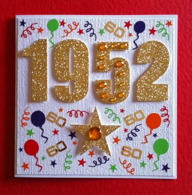 Google Image Result For Https Www Groovycart Co Uk Productimages C002950 P062986 M 1952april Jpg 60th Birthday Cards Birthday Cards 50th Birthday Cards
