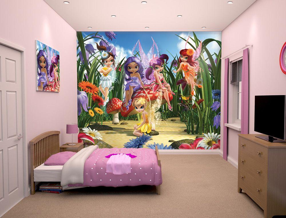 Magical Fairies Wallpaper Mural Fairies Magical GirlsRooms