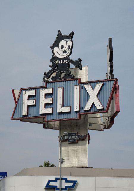 FELIX Chevrolet Sign Los Angeles