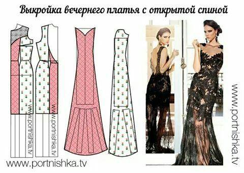 new concept 1fdf0 8448b Cartamodello abito lungo | cartamodelli | Modelagem de ...
