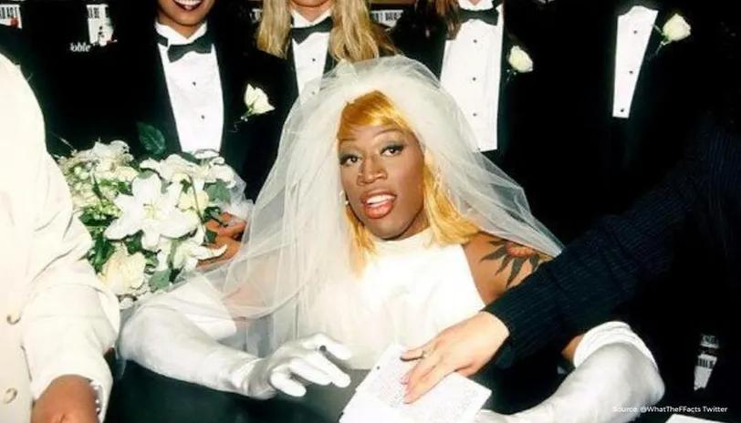 dennis rodman bride - Google Search in 2020 | Wedding