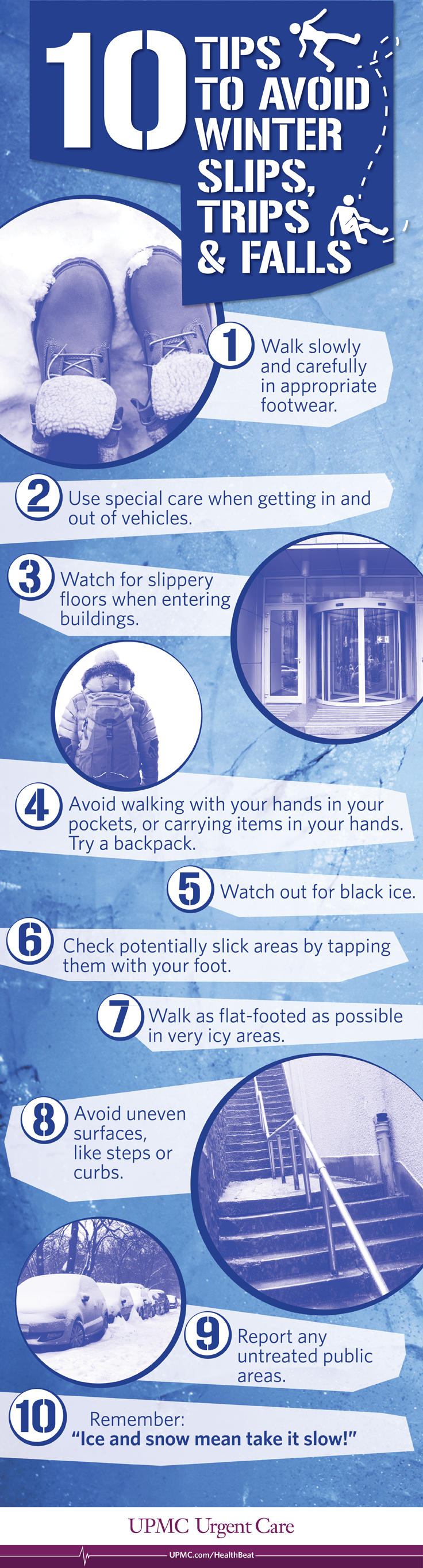 10 Tips to Avoid Winter Slips, Trips, and Falls Slip