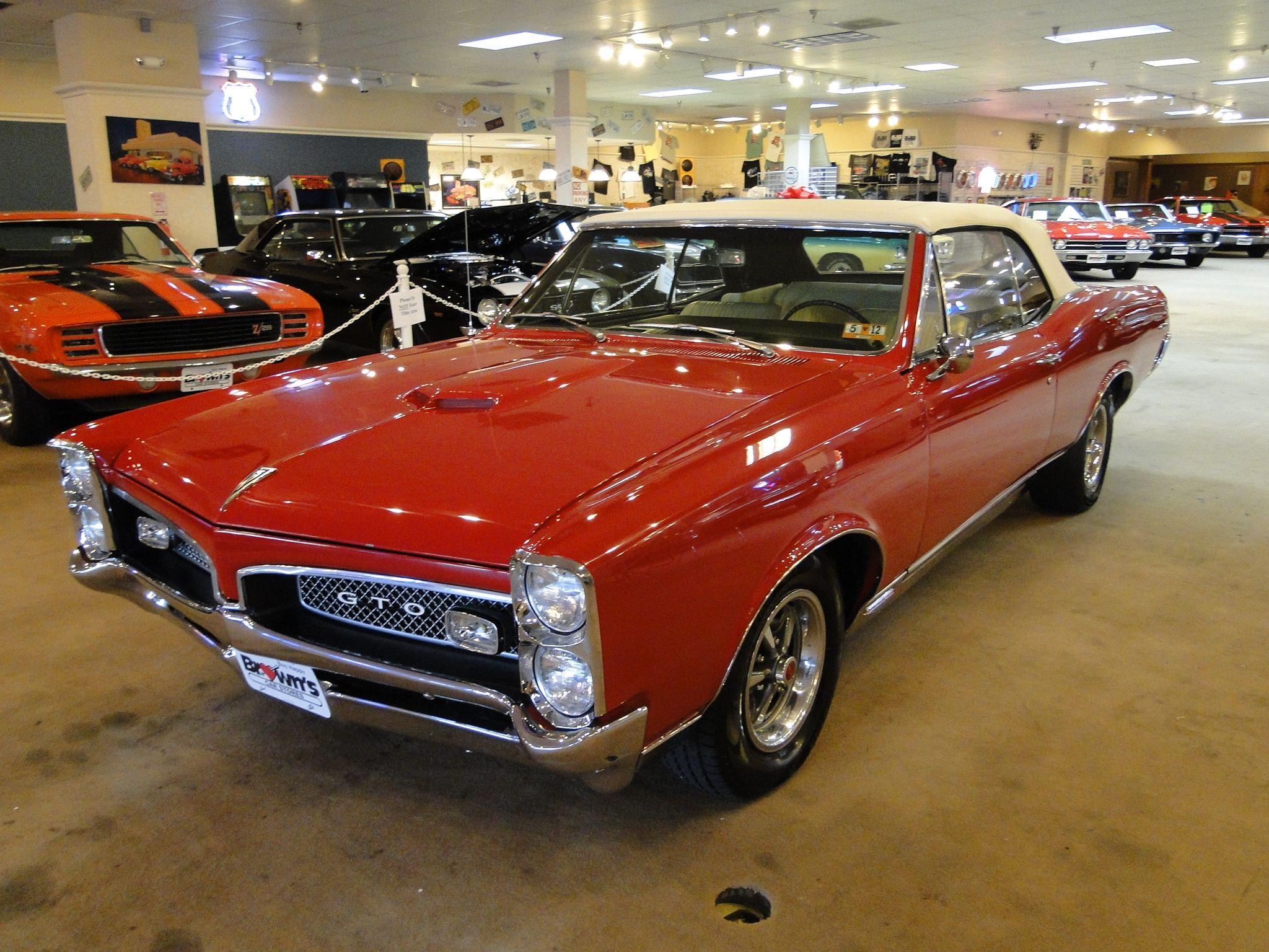 1967 Pontiac GTO CONVERTIBLE Convertible Glen Burnie MD | Hot Cars ...