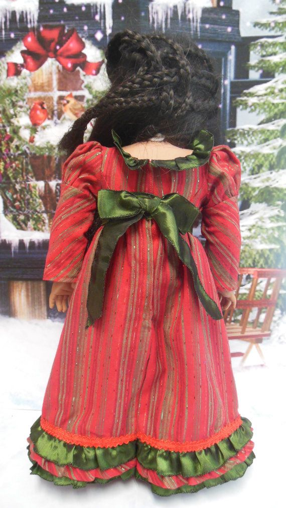 for AMERICAN GIRL La Nochebuena Brillante by TheDollyDama