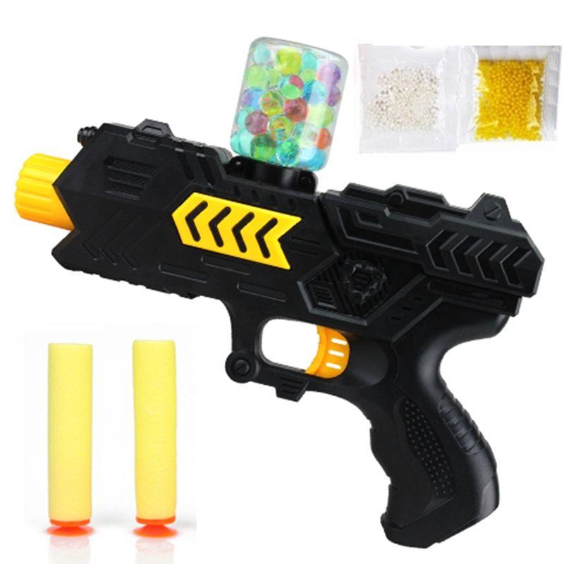 Outdoor schieten game Paintball zachte pistool water orbeez pistool EVA kogel + water bomb dual-purpose pistol uitbarstingen van kristal speelgoed