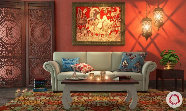 Top 15 Indian Interior Design Ideas To Add That Desi Drama To Your Home Indian Interior Design House Interior Design Styles Indian Interiors