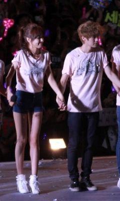 SNSD Seohyun og Luhan dating