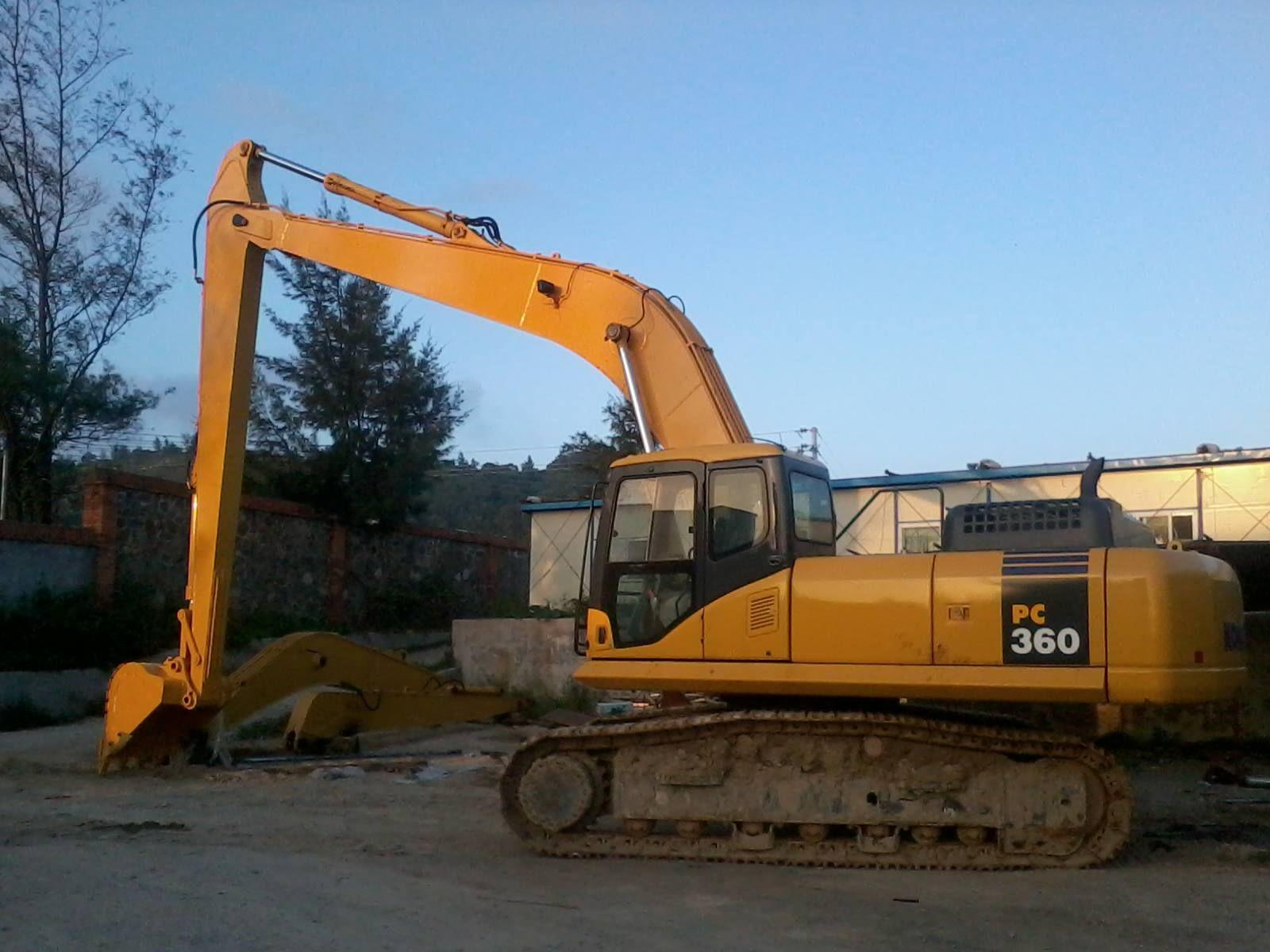 16m long reach boom kit for PC360 Excavator, Boom, Waterway
