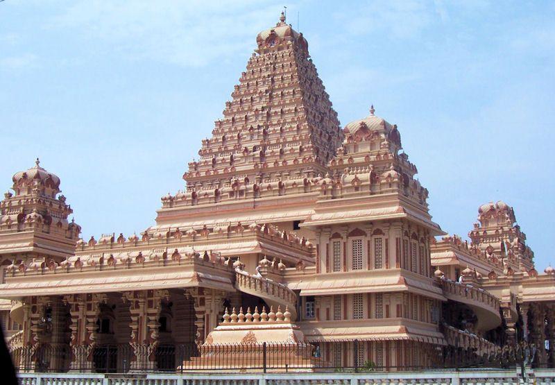 Chattarpur Temple Tourist Places Walking Tour Delhi India