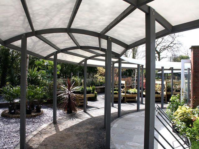 Freestanding Terrace Canopies Design