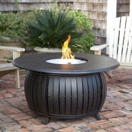 Grand Cooper Round Fire Pit Woodlanddirect Com Outdoor Fireplaces