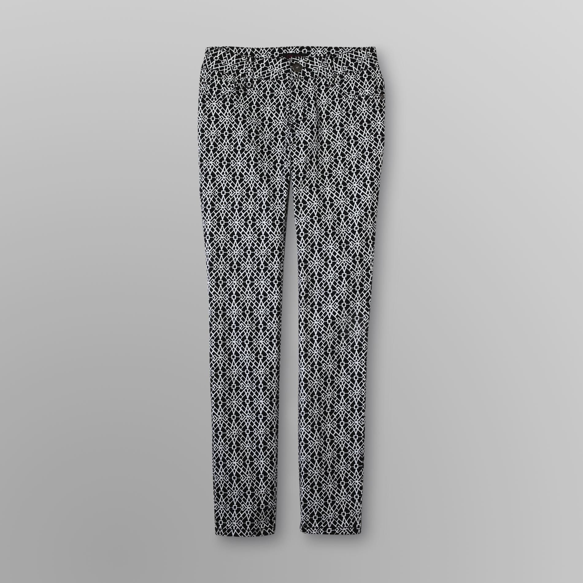 Geometric print Jeggings