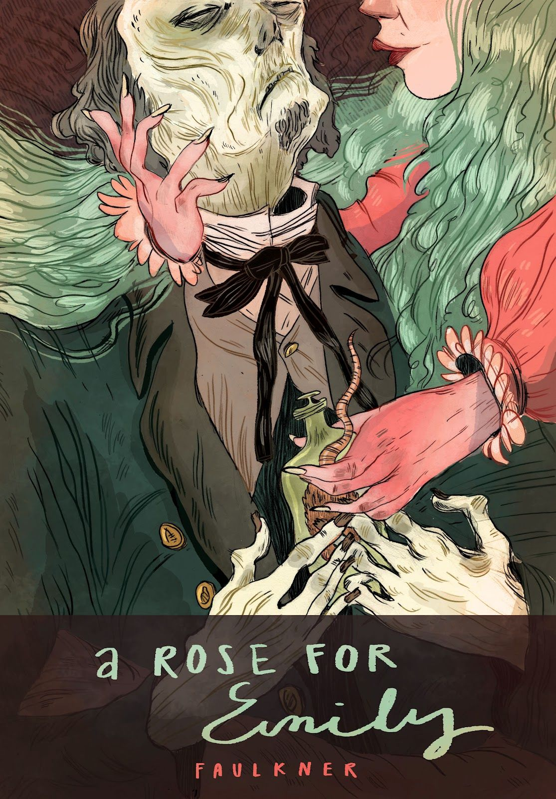 rose for emily analysis Dive deep into william faulkner's a rose for emily with extended analysis, commentary, and discussion.