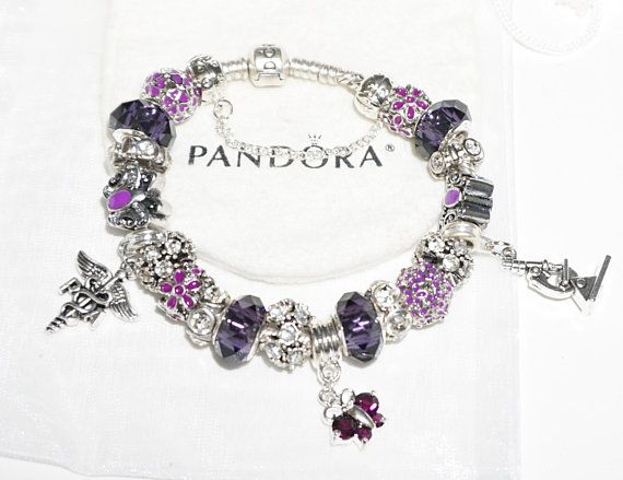 Physician assistant PA Authentic Jared Pandora bracelet