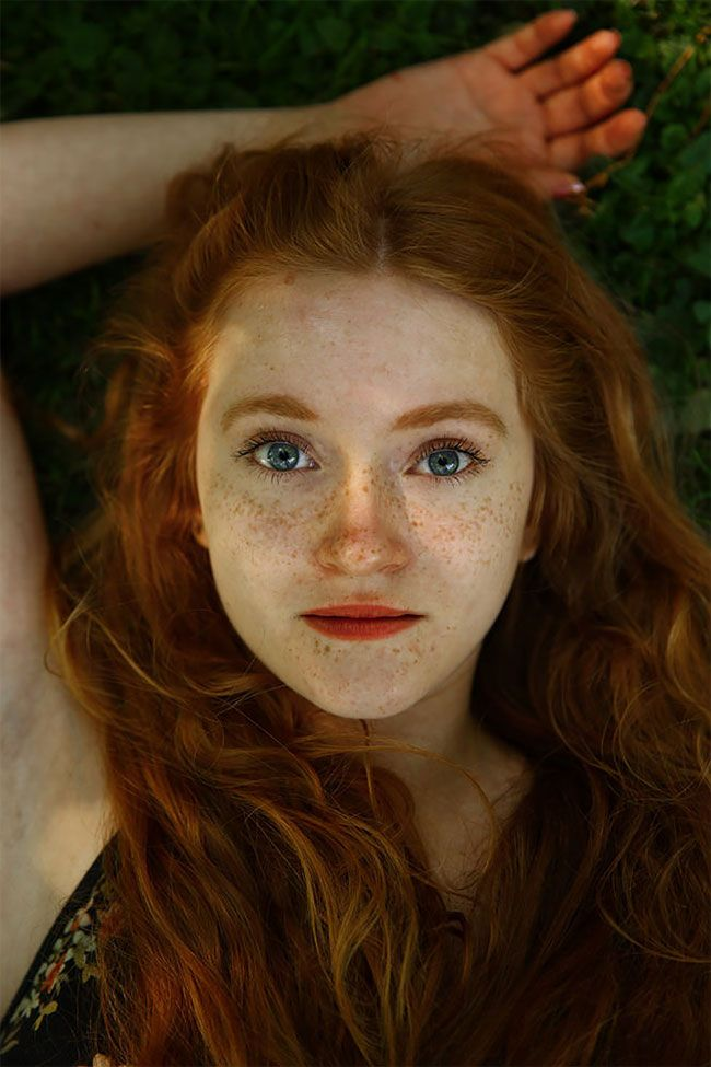 This Photographer Captured 130 Images Showing The Stunning Beauty Of Redheads