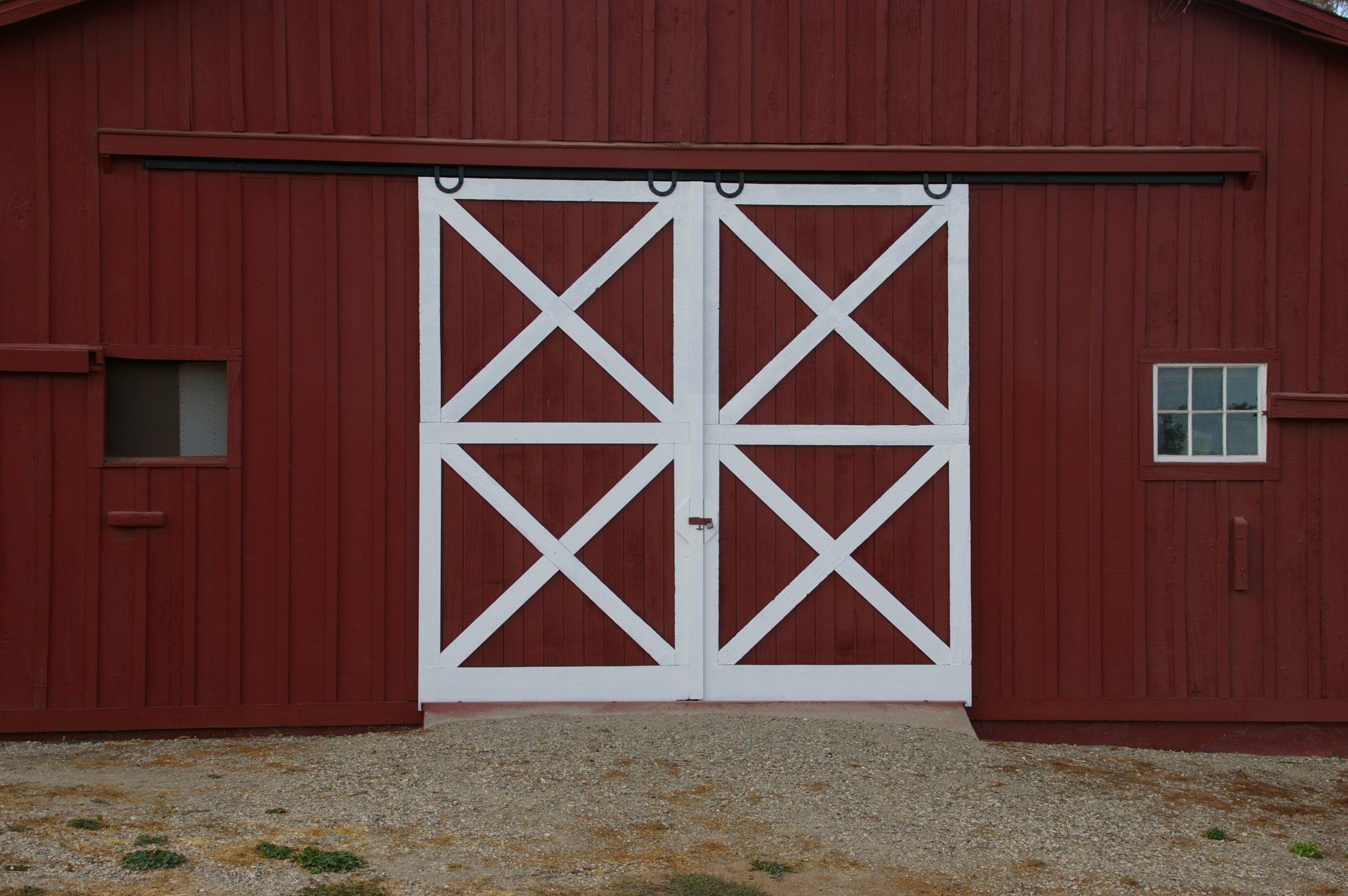 Horseshoe Flat Track Hardware Kit Carriage Doors Barn Doors And