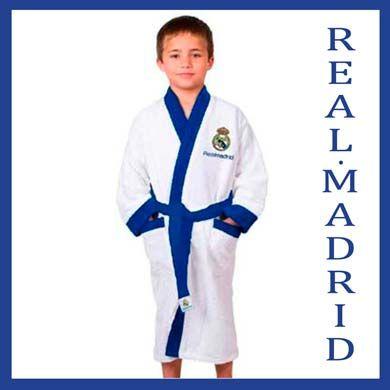 Lacotex mayorista distribuidor licencias Real Madird pijamas, batines, albornoz, toallas, peleles, boxers