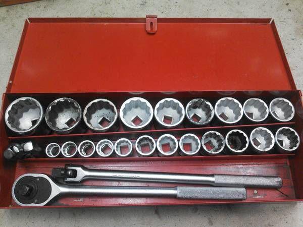 Proto 3/4 drive socket set | Socket set, Wrenches, Sockets