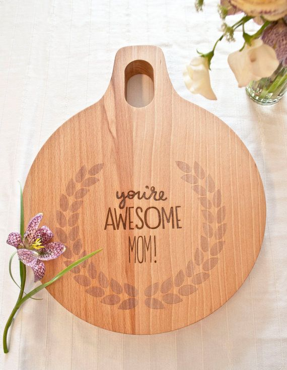 heres a fun idea for a mothers day gift a custom cutting board for the - Kitchen Gift Ideas For Mom