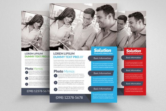 Marketing Consulting Business Flyer Creativework  Templates