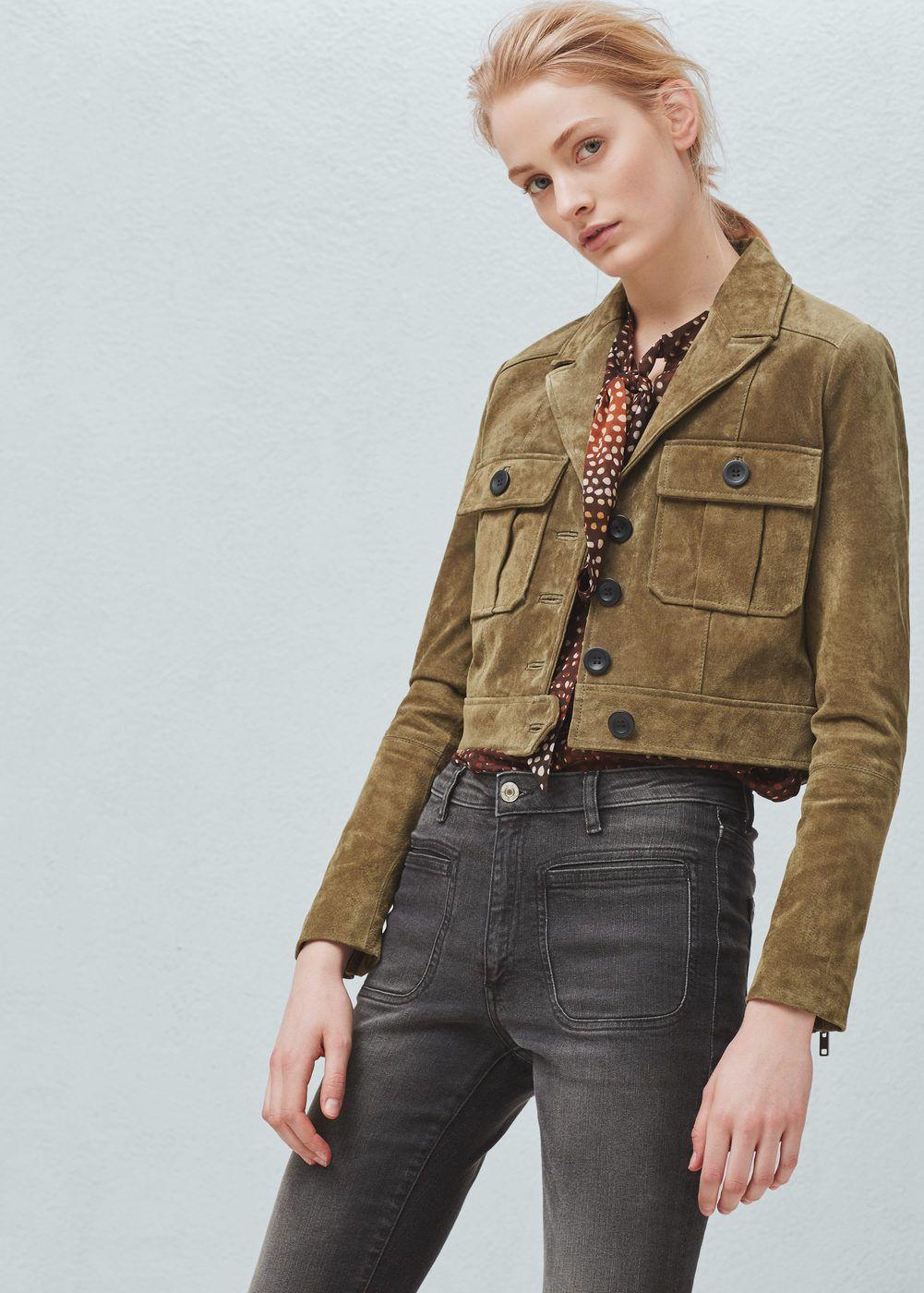 ef956893f23 Suede jacket - Jackets for Women