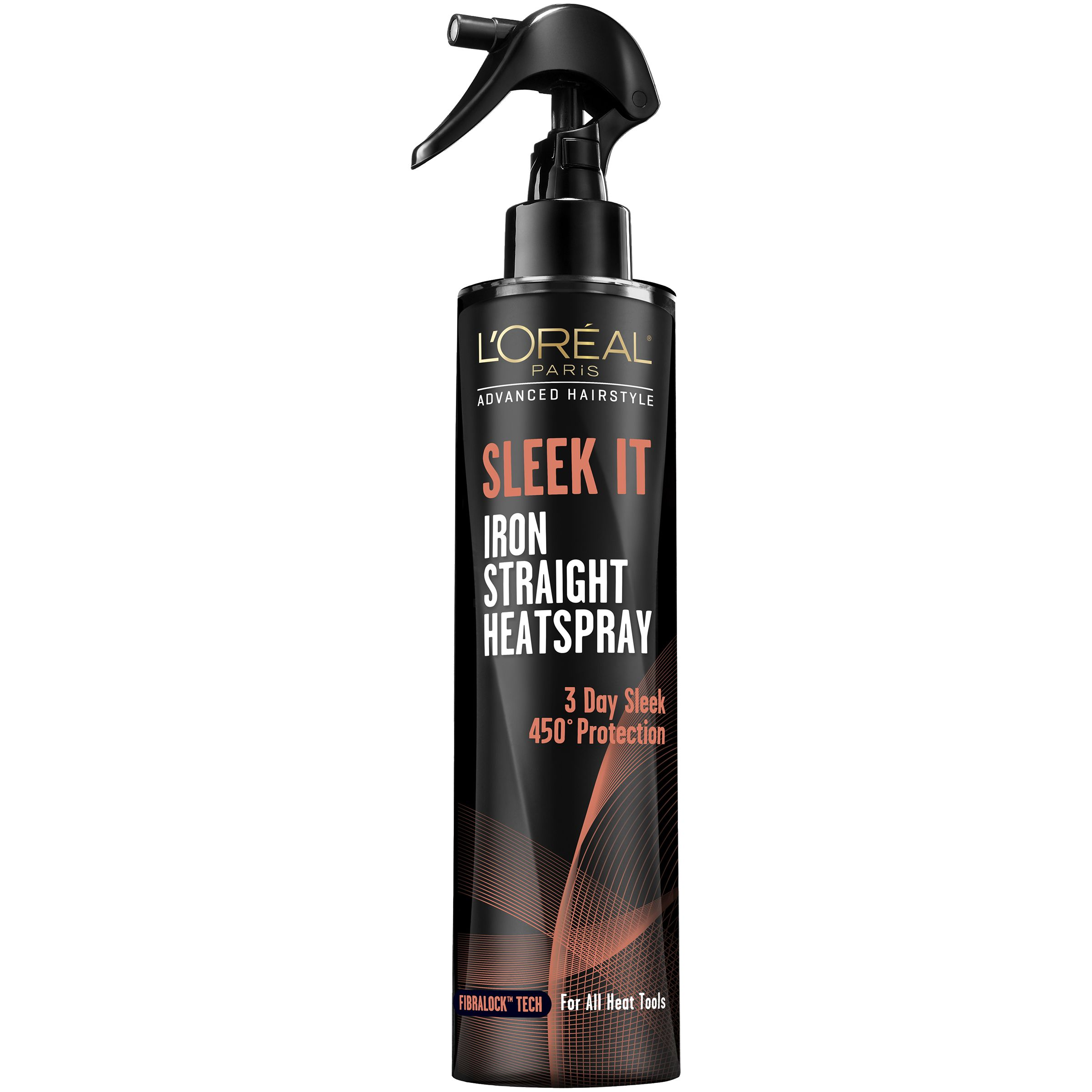 L Oreal Sleek It Iron Straight Heatspray Hair Styling Products Anti Frizz Products Heat Spray Loreal Paris