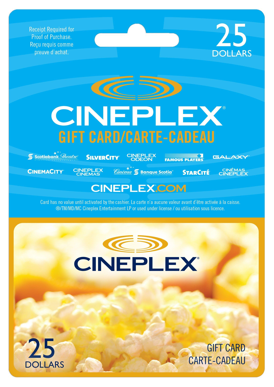 cineplex gift card - Google Search   Cameron   Subway gift