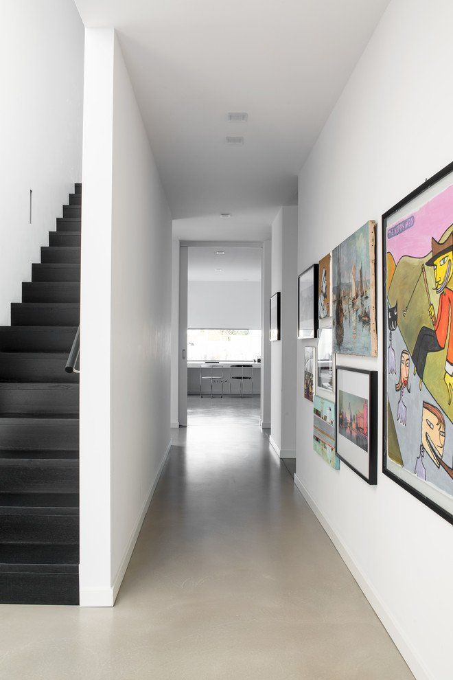 Splendid Modern Hallway Designs Your Home Interior Needs Also Treppe Rh  Pinterest