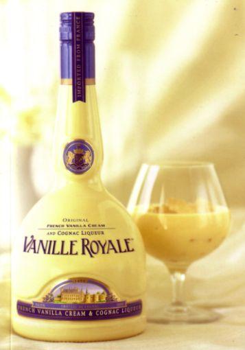 Vanille Royale Wine Bottle Liqueur