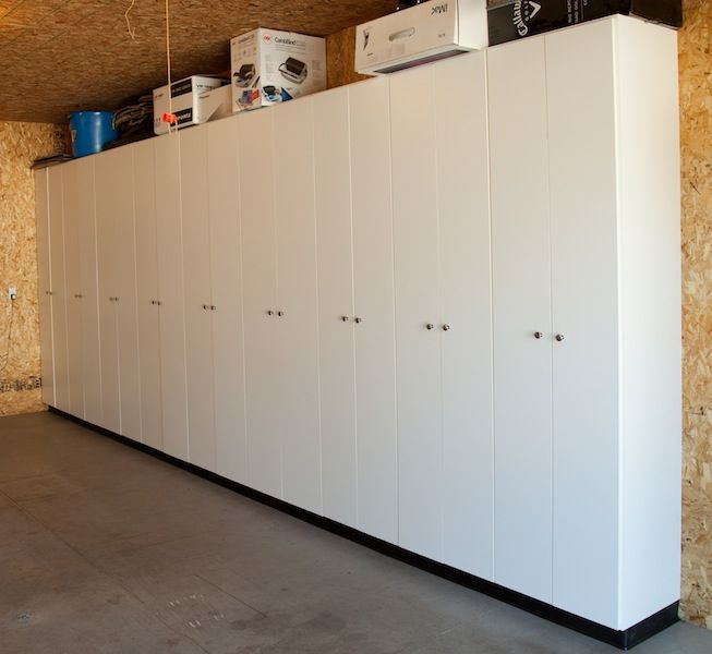 Garage Storage Cabinets Why Not Take Them All The Way To Ceiling So You