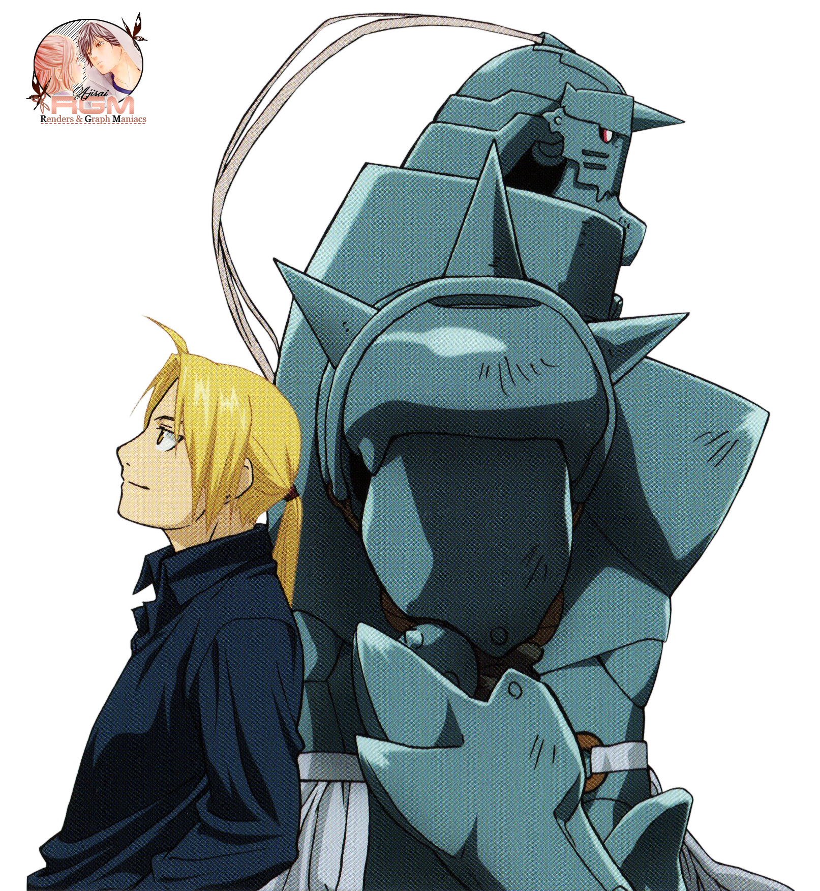 Edward and Alphonse Elric - Fullmetal Alchemist ... Fullmetal Alchemist Alphonse Elric