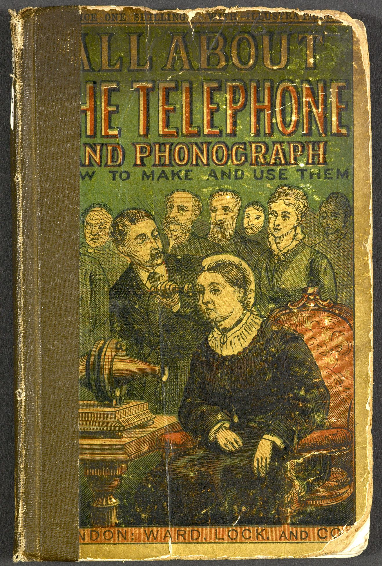 All about the telephone and phonograph phonograph