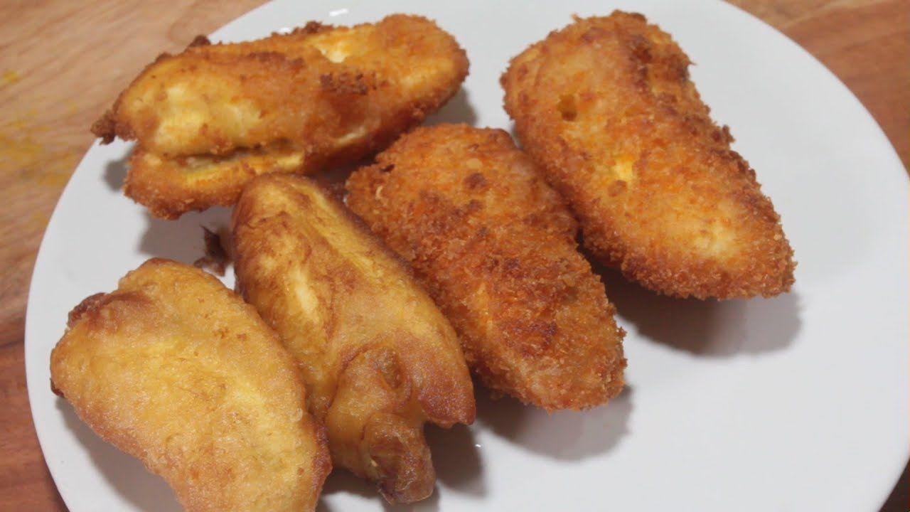 Pisang Goreng Madu Bisnis Jalanan Makanan Pisang Resep Masakan
