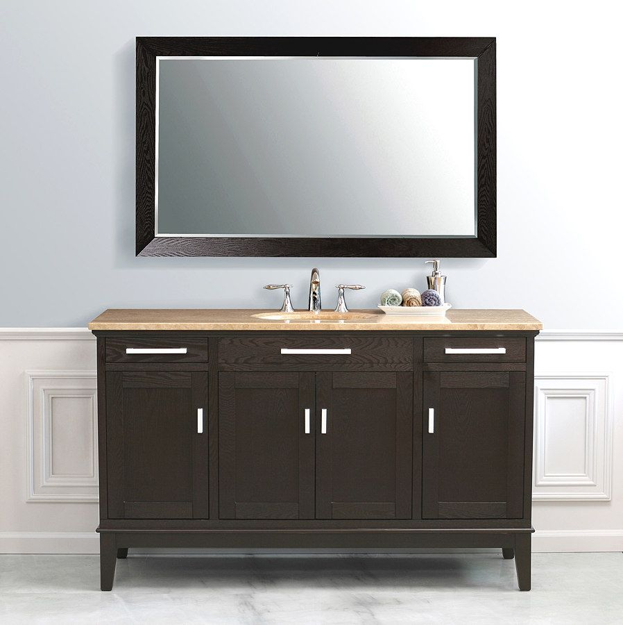 Marcellino Single Sink Bathroom Vanity LS-2129 by Virtu ...