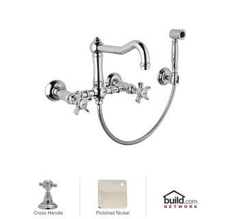 Rohl A1456XMWS-2 | Home ideas! | Wall mount kitchen faucet ...