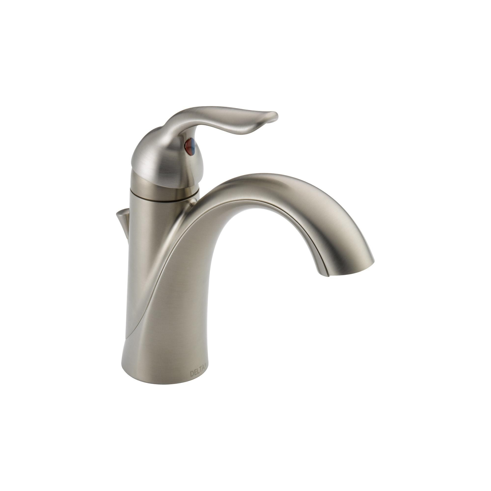 Delta Faucet 538 Mpu Dst Lahara Single Hole Bathroom Faucet With