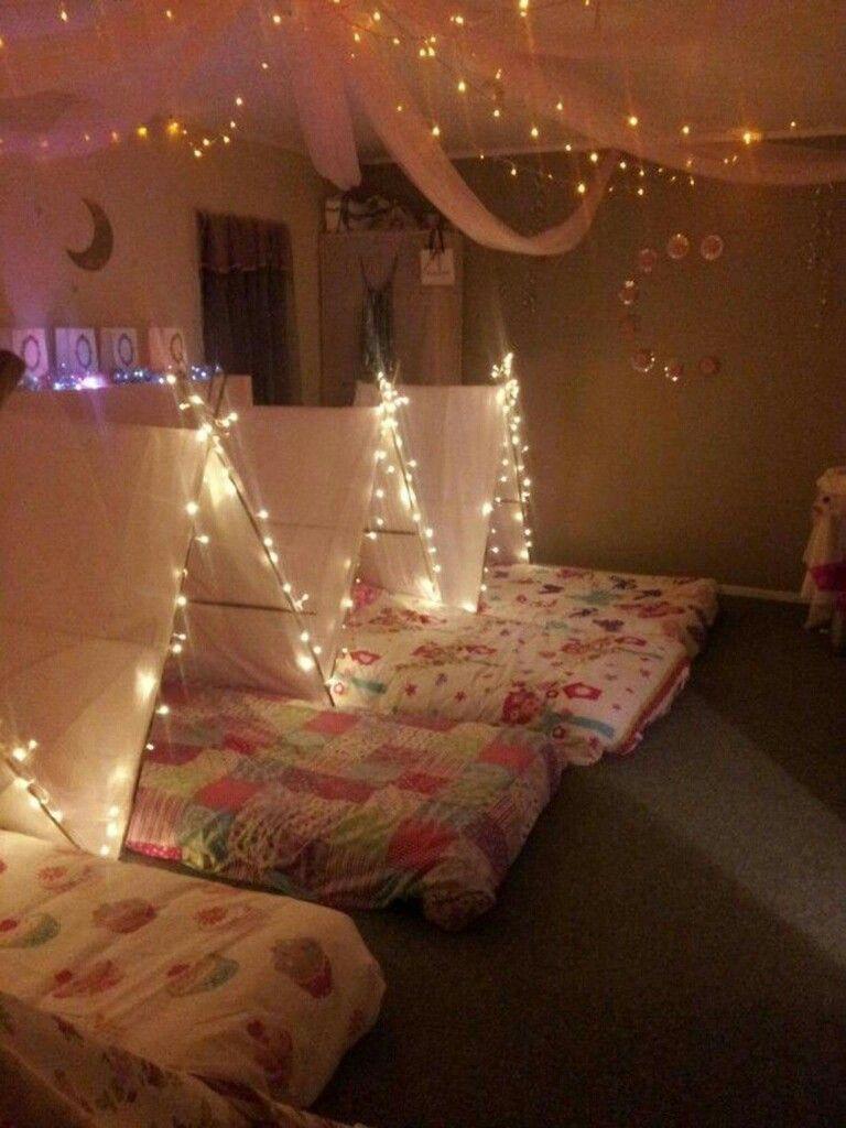 Tent City Nanas House Ideas Party Girl Sleepover Girls Birthday Parties