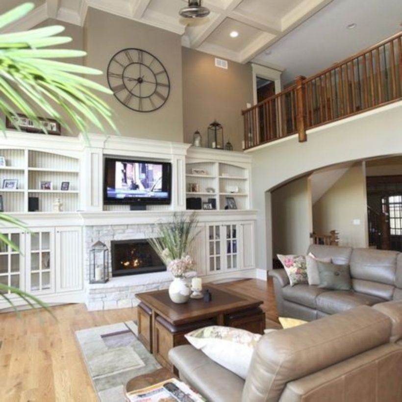 47 Comfortable Family Room Design Ideas We Want to Relax in All Day Long images