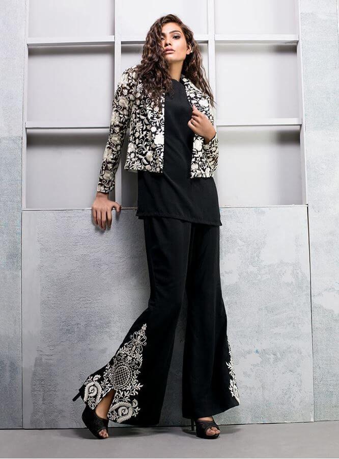 544da6c6aee Show details for Black organza blazer