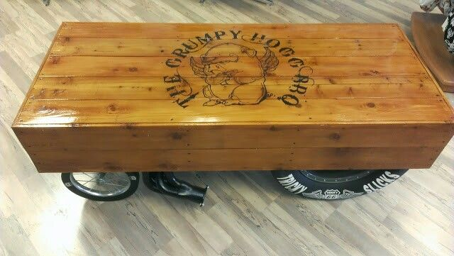 Rat Rod Hot Rod Gasser Coffee Table I Built Automotive