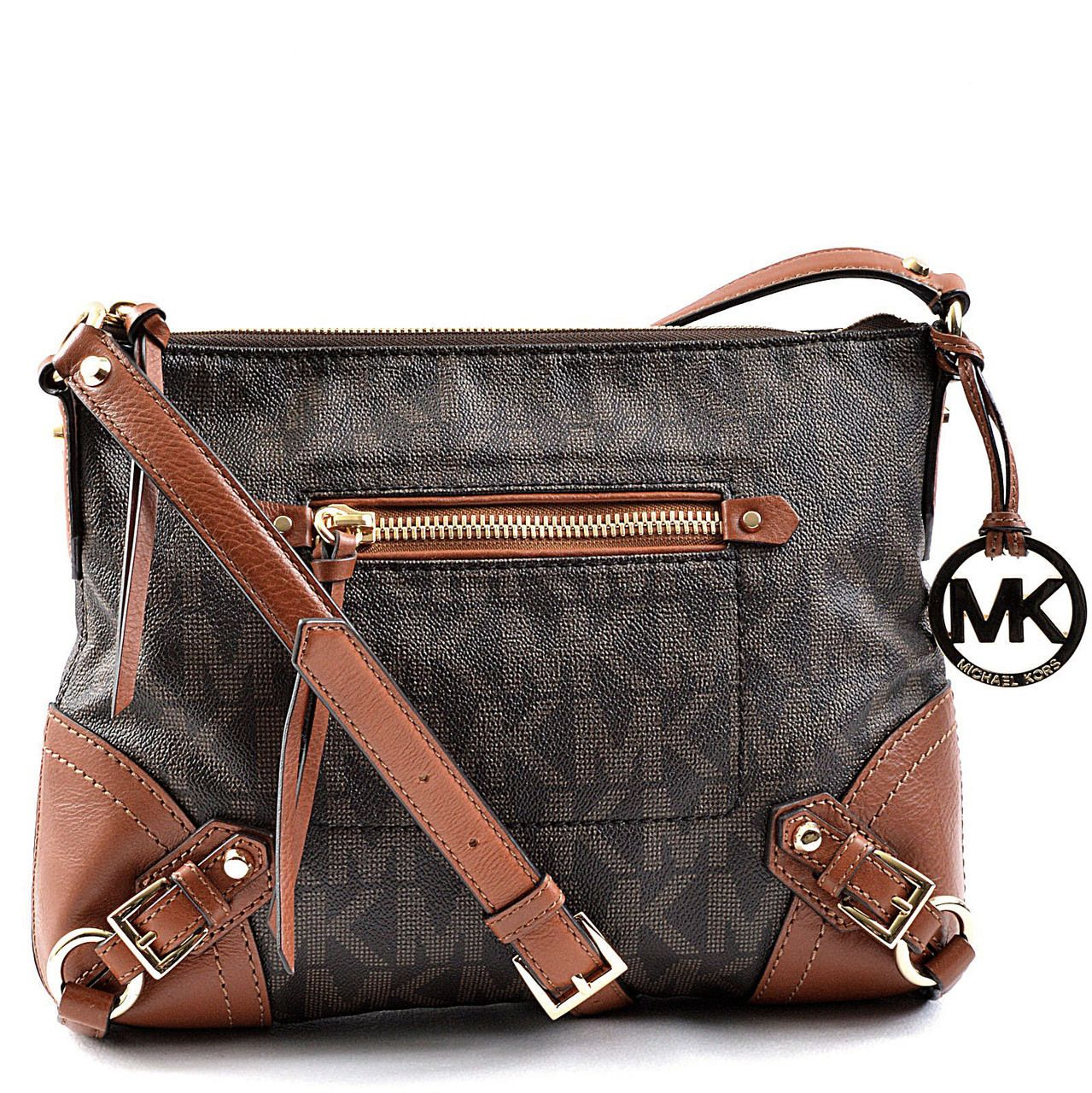 authentic michael kors fallon signature messenger bag authentic rh pinterest com
