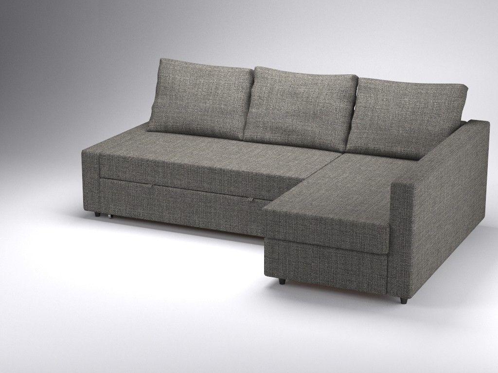 Corner Sofa Bed Friheten Ikea 3D 3Ds   3D Model