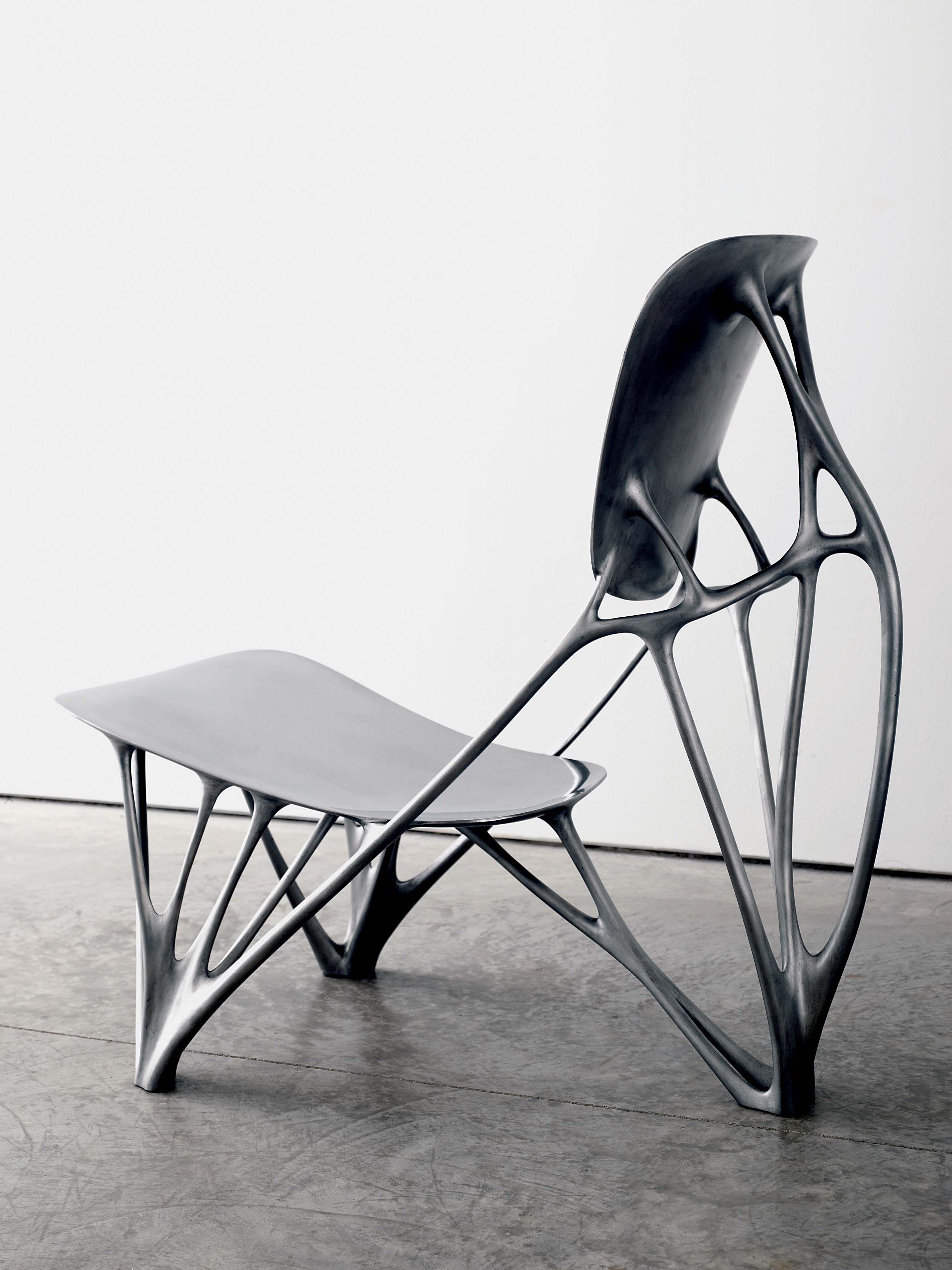 Chair Design Program Navy Wing Slipcover Collecting D Adam Lindemann Taschen Style Pinterest Bone By Joris Laarman Define Surfaces And The Weight They Must Hold A Minimum Material Structure Is Generated That Replicates
