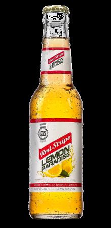 Jamaican Pride In A Bottle Red Stripe Beer Beer Bottle Lemon Beer