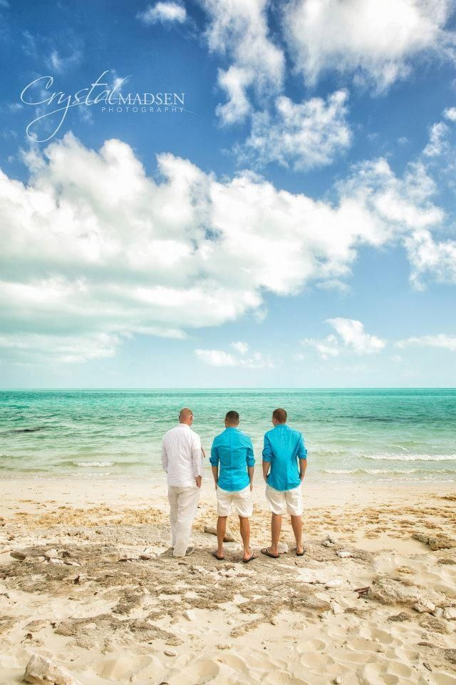 A destination wedding in the Turks and Caicos. This photograph was taken by Spokane wedding photographer Crystal Madsen. www.crystalmadsen.com