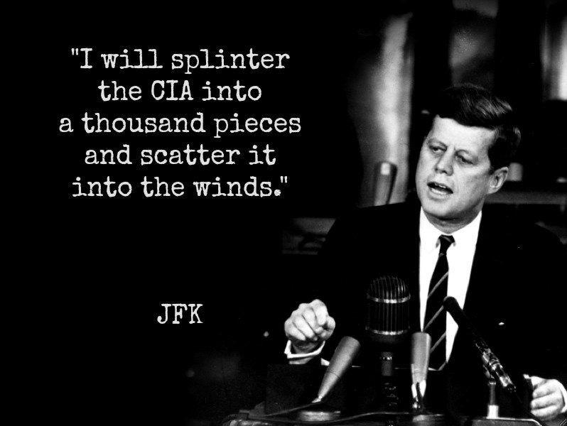 Resultado de imagen para Fotos de John F. Kennedy y la CIA