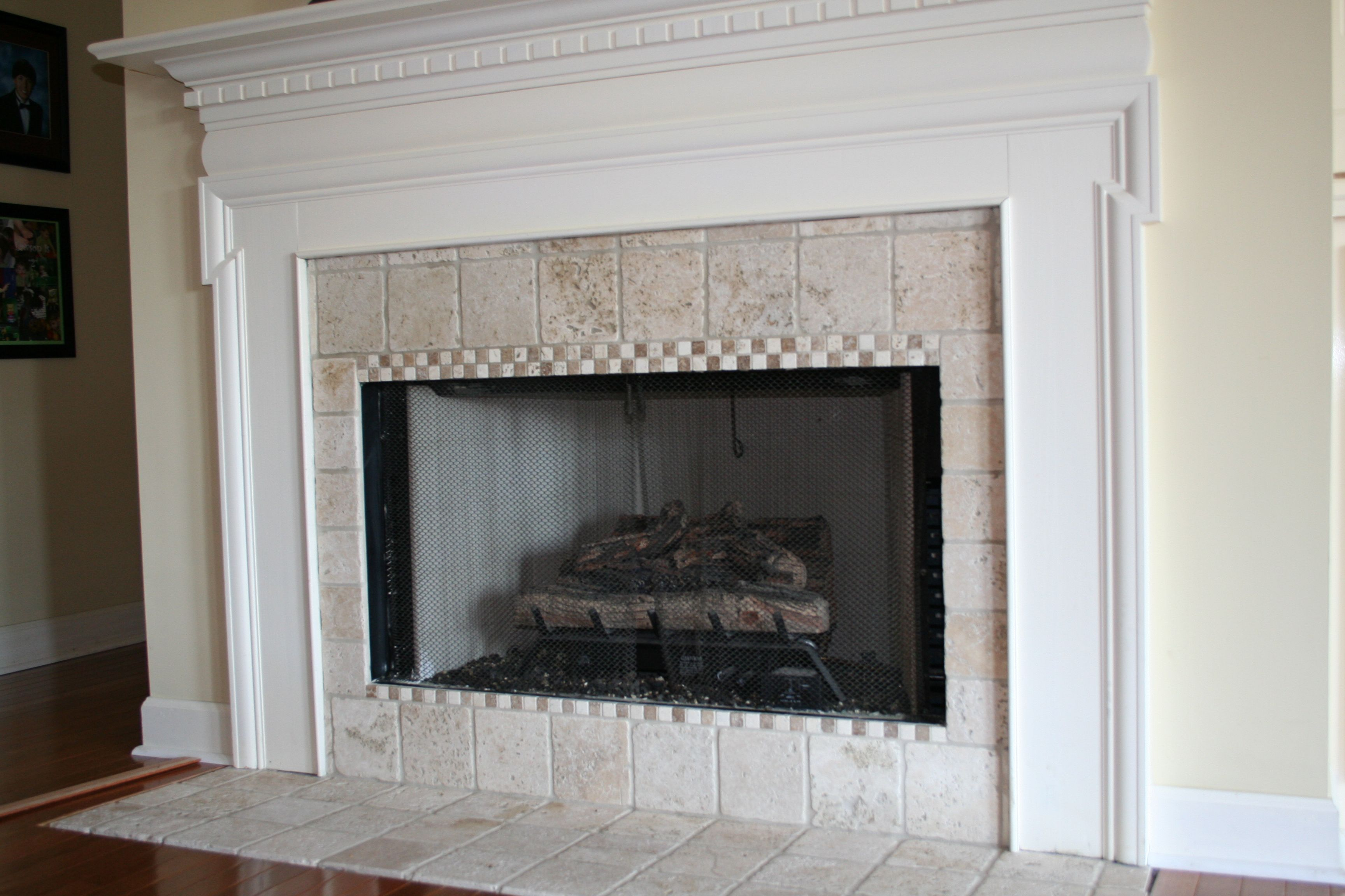 fireplace tile design ideas 1000 images about fireplaces makeovers on pinterest faux stone fireplaces fireplaces and fireplace mantels fireplace - Fireplace Surround Design Ideas
