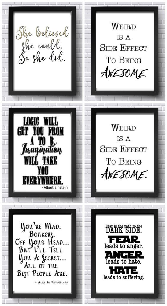 photo regarding Free Printable Office Signs titled Totally free Inspirational Printables! Free of charge Place of work Printables