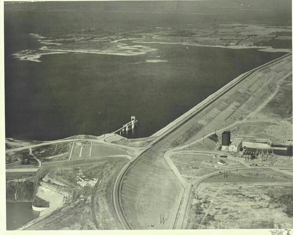 German Prisoners Of War Were Used To Help Build The Denison Dam That Helped Form Lake Texoma Lake Texoma Texas History Lake