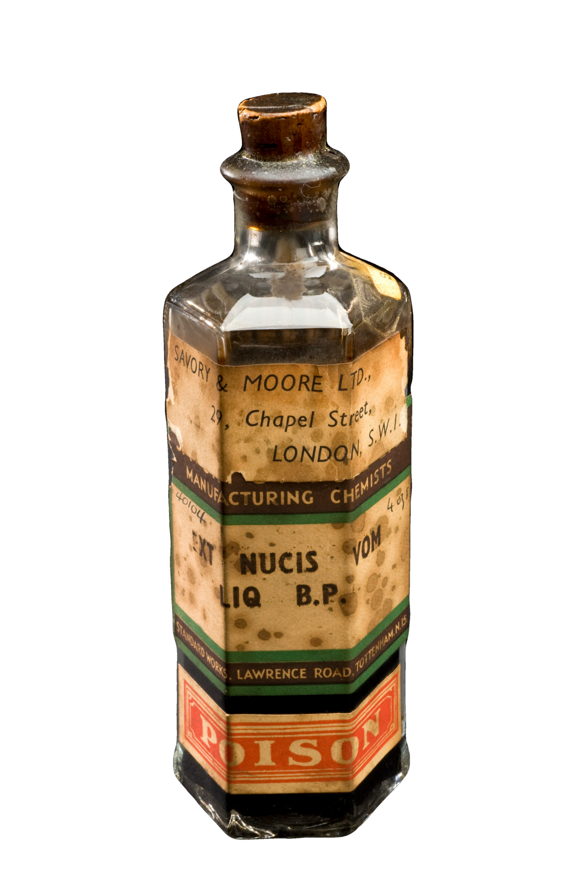 Old Poison Bottle From London Background Removed Png Bottle Whiskey Bottle Perfume Bottles